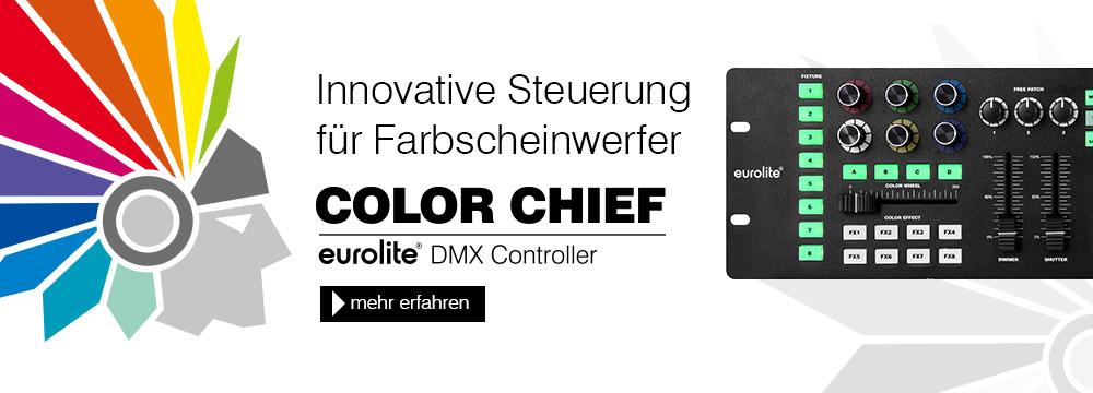Get your Color Chief (bei Kategorie Kompaktlichtanlagen)