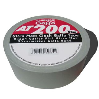 Advance Gaffa Tape AT-200 ultramatt silber/silver (Cloth...