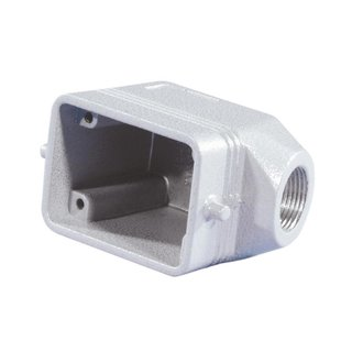 ILME Socket Casing for 6-pin, PG13,5, angle