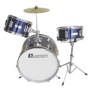 Dimavery JDS-203 Kids Drum Set, blue