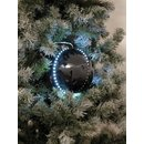 Europalms LED Snowball 8cm, black 5x