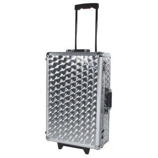 Roadinger CD Case polished 120 CDs with Trolley