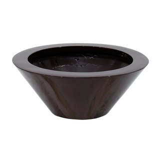 Europalms LEICHTSIN BOWL-15, shiny-brown