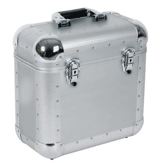 Roadinger Record Case ALU Battle/Booking, rounded