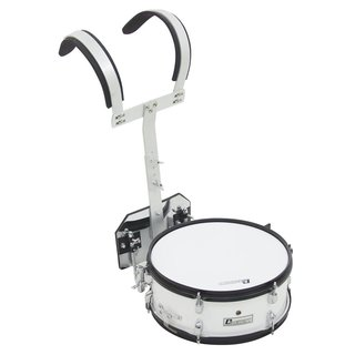 Dimavery MS-200 Marching Snare, white