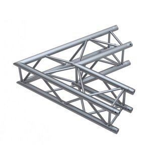 Global Truss F34, 4-Punkt Traverse, 2-Weg Ecke C20 60°