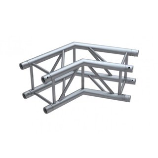 Global Truss F34, 4-Punkt Traverse, 2-Weg Ecke C22 120°