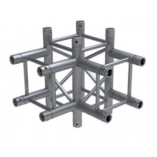 Global Truss F34, 4-Punkt Traverse, 4-Weg Ecke T40