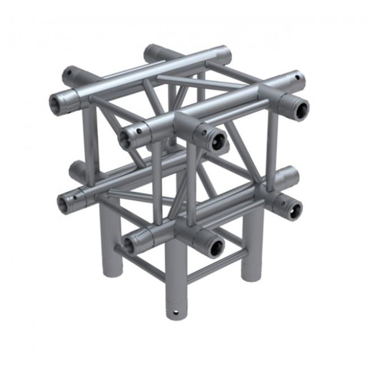 Global Truss F34, 4-Punkt Traverse, 5-Weg Ecke C55