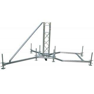 Global Truss Outrigger für Ballast Alu
