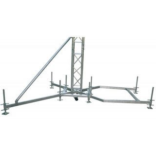 Global Truss Outrigger für Bodenplatte 75cm Alu