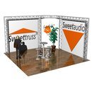 Sweettruss MS-E 4.7/4.7/3.0 Messestand eckig