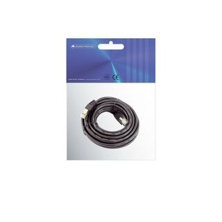 Omnitronic CAT-5 cable 1m bk