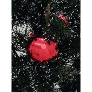 Europalms LED Christmas Ball 6cm, red 6x