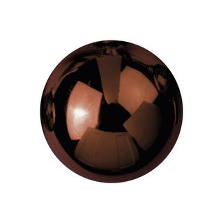 Europalms Deco Ball 3,5cm, brown, shiny 48x