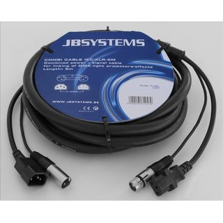 JB Systems Combi Cable IEC/XLR 5m