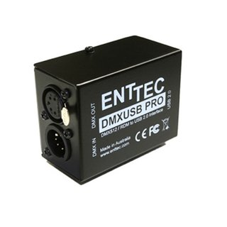 Enttec DMX USB Pro Interface mit DMX In und Out, RDM-kompatibel