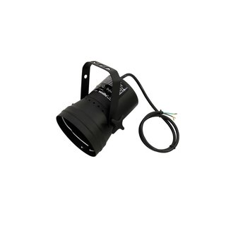 Eurolite T-36 Pinspot with Cable, black