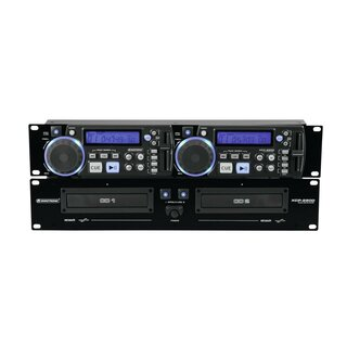 Omnitronic XCP-2800 Dual-CD-Player, Doppel-CD-Player,...