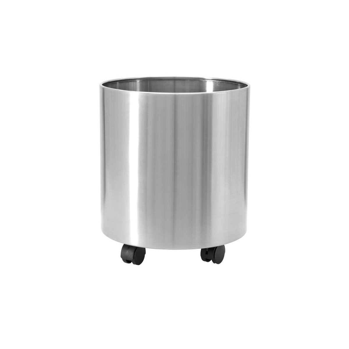 Europalms STEELECHT-40, stainless steel pot, Ø40cm