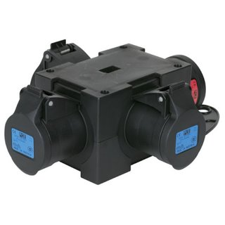 Showtec Powersplit 4 CEE 16A, in: 1x 16A CEE, out: 3x 16...