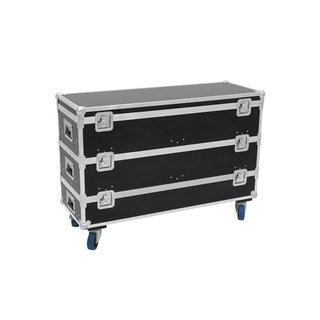 Roadinger Flightcase 12x LED-Leiste Größe L