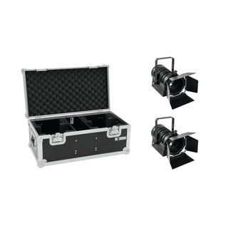Eurolite Set 2x LED THA-40PC sw + Case