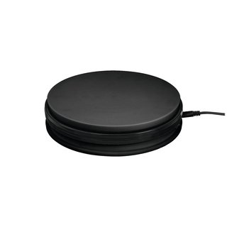 Europalms Rotary Plate 45cm up to 50kg black