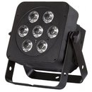JB Systems LED Plano 7FC-BLACK, LED-Scheinwerfer, 7x...
