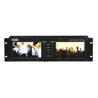 DMT DLD-72 MKII, Dual-Display, 2x 7 Zoll Display, IN:...