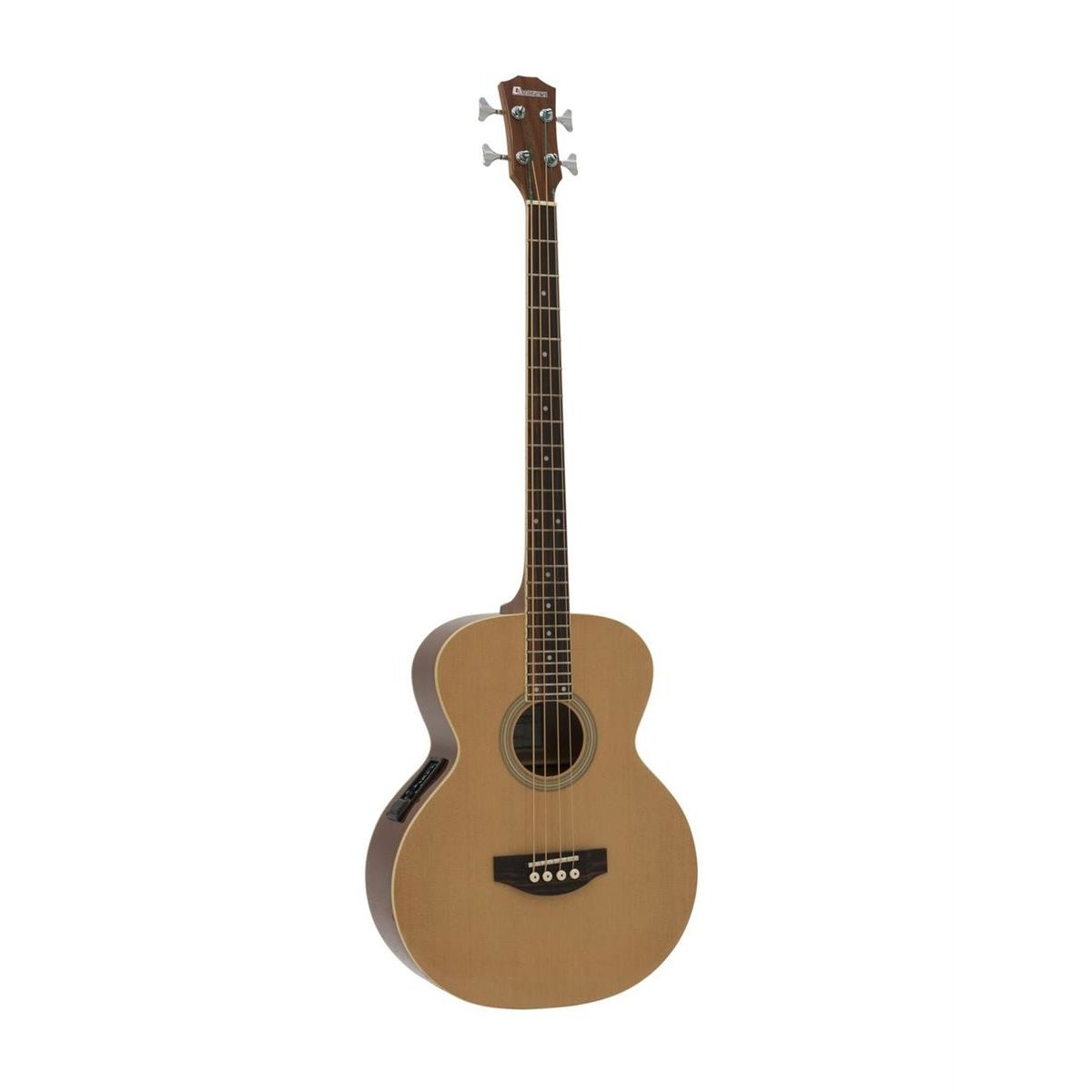 Dimavery AB-450 Acoustic Bass, nature