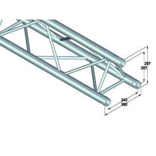Alutruss Trilock 6082-5000 3-Punkt-Traverse