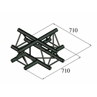 Alutruss Trilock S-PAC-41 4-Way Cross