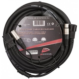 JB Systems Audio Combi Cable IEC/XLR-20M