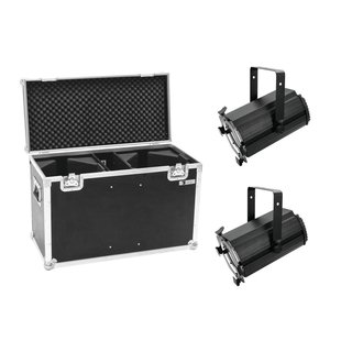 Eurolite Set 2x LED THA-120PC Theater-Spot + Case