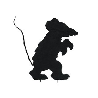 Europalms Silhouette Creepy Mouse, 56cm