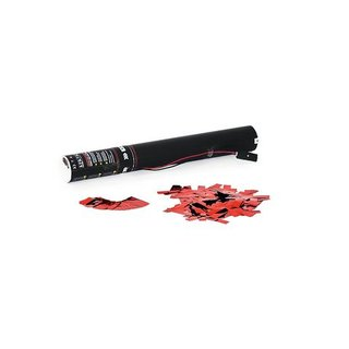 TCM FX Electric Confetti Cannon 40cm, red metallic