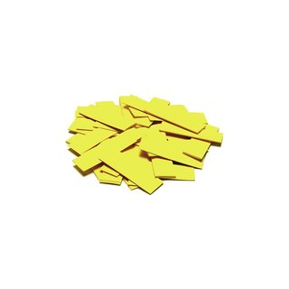 TCM FX Slowfall Confetti rectangular 55x18mm, yellow, 1kg