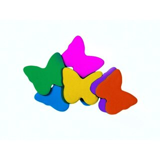 TCM FX Slowfall Confetti Butterflies 55x55mm, multicolor,...