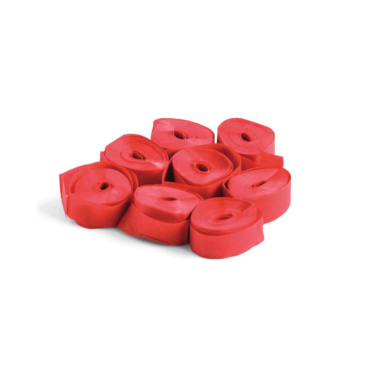 TCM FX Slowfall Streamers 5mx0.85cm, red, 100x