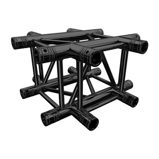 Global Truss F34 P 4-Weg Ecke C41 stage black