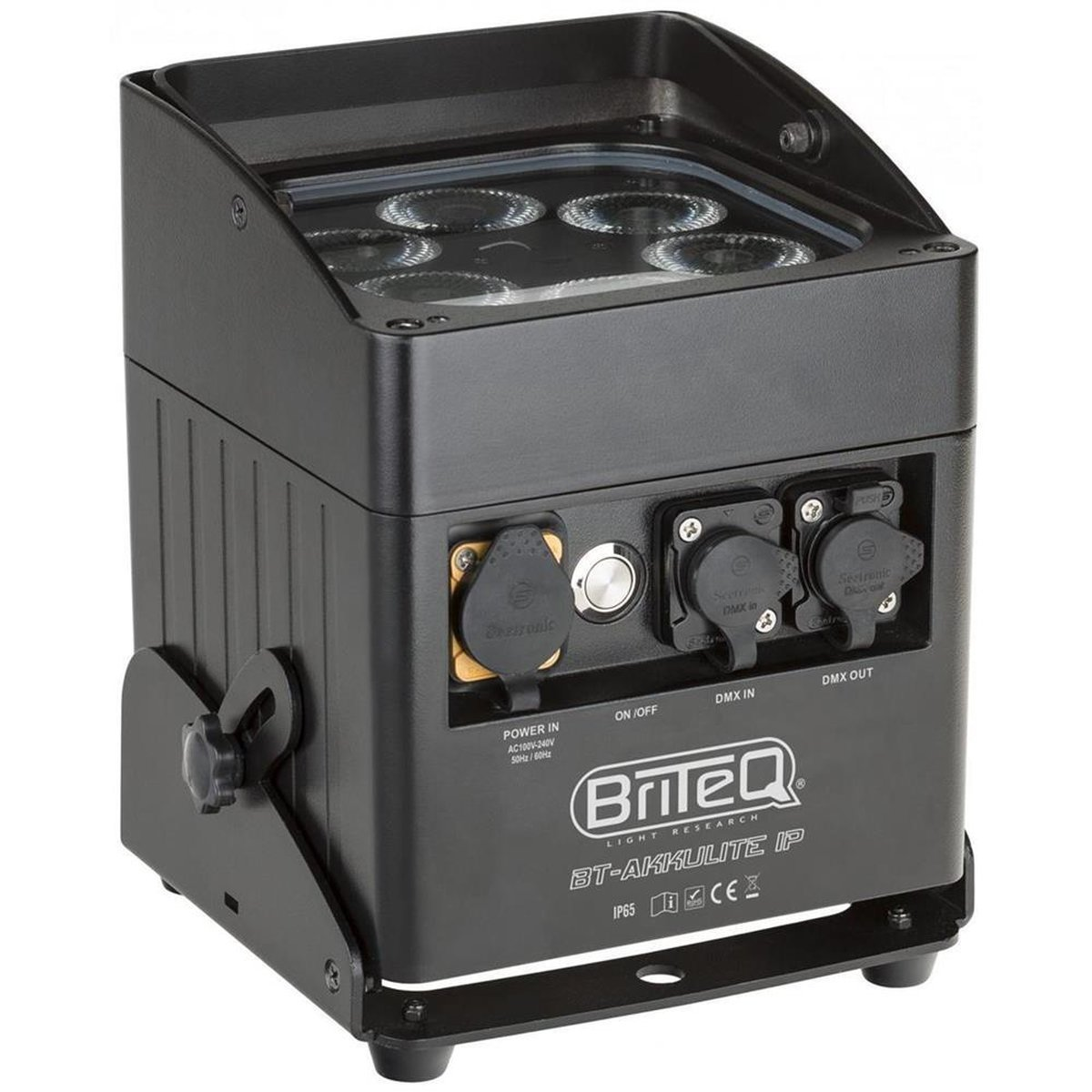 Briteq BT-Akkulite IP, 6x 10 Watt RGBWA-LED