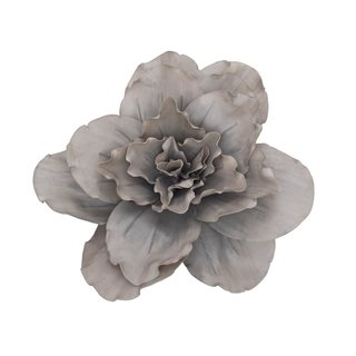 Europalms Giant Flower (EVA), beige grey, 80cm