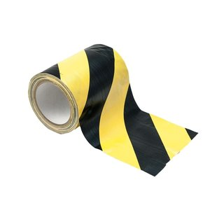 Cable Tape yellow/black 150mm x 15m