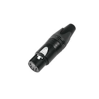 Neutrik XLR socket 5pin NC5FXX-B