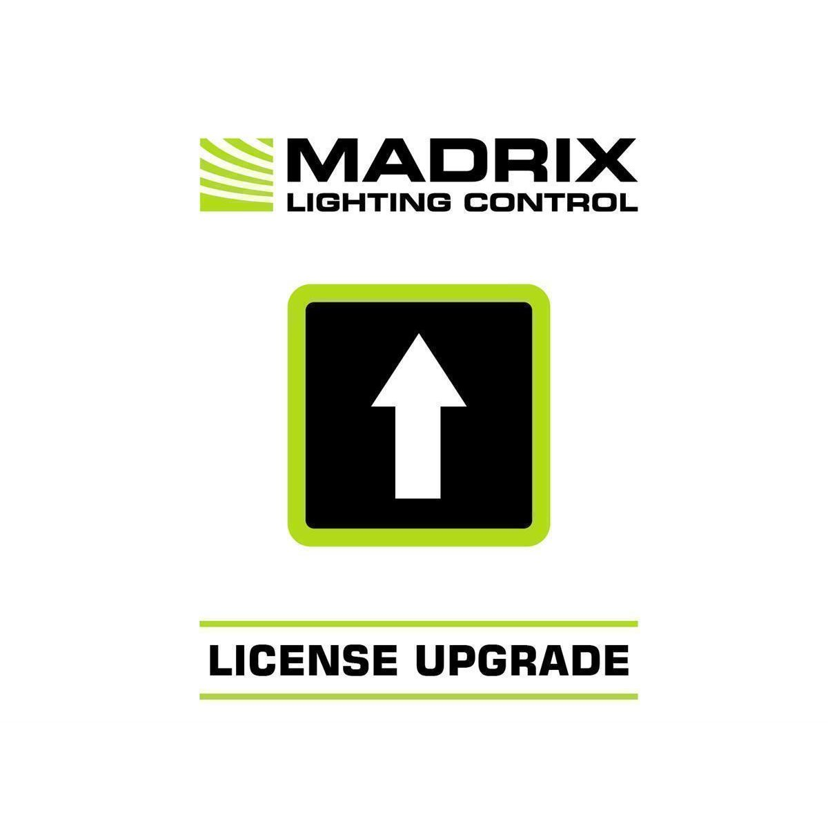 Madrix UPGRADE start -> maximum
