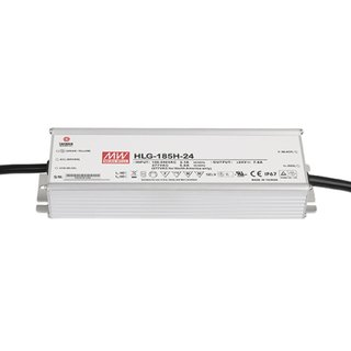 Artecta LED Power Supply 185 W 24 VDC MEAN WELL HLG-185H-24
