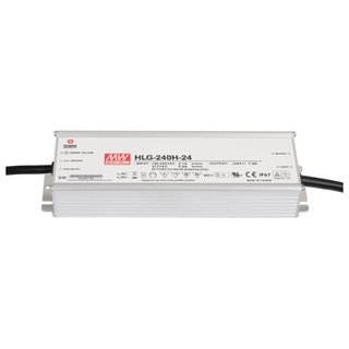 Artecta LED Power Supply 240 W 24 VDC MEAN WELL HLG-240H-24
