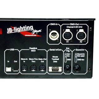 JB Lighting Licon CX Multifunktionspult TOURPACK, incl. Rahmen, Case, Trackball, Pultleuchte, Hülle, Memory Stick