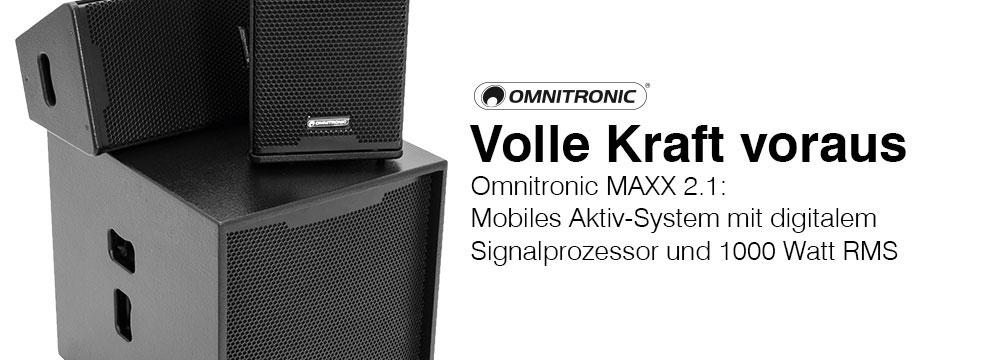 MAXX-1000DSP MKII - Volle Kraft voraus